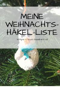 Jul 1 Meine Weihnachts Häkel Liste Susi Haekeltat Pinterest