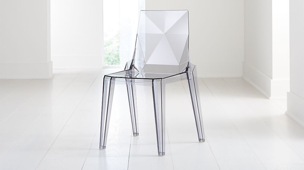 Mist Acrylic Dining Chair Reviews Crate And Barrel Acrylic