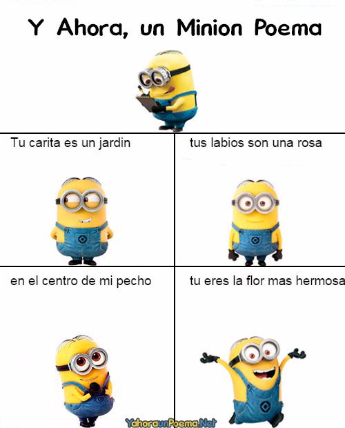 Minion Poema Valentines Memes Minions Humor