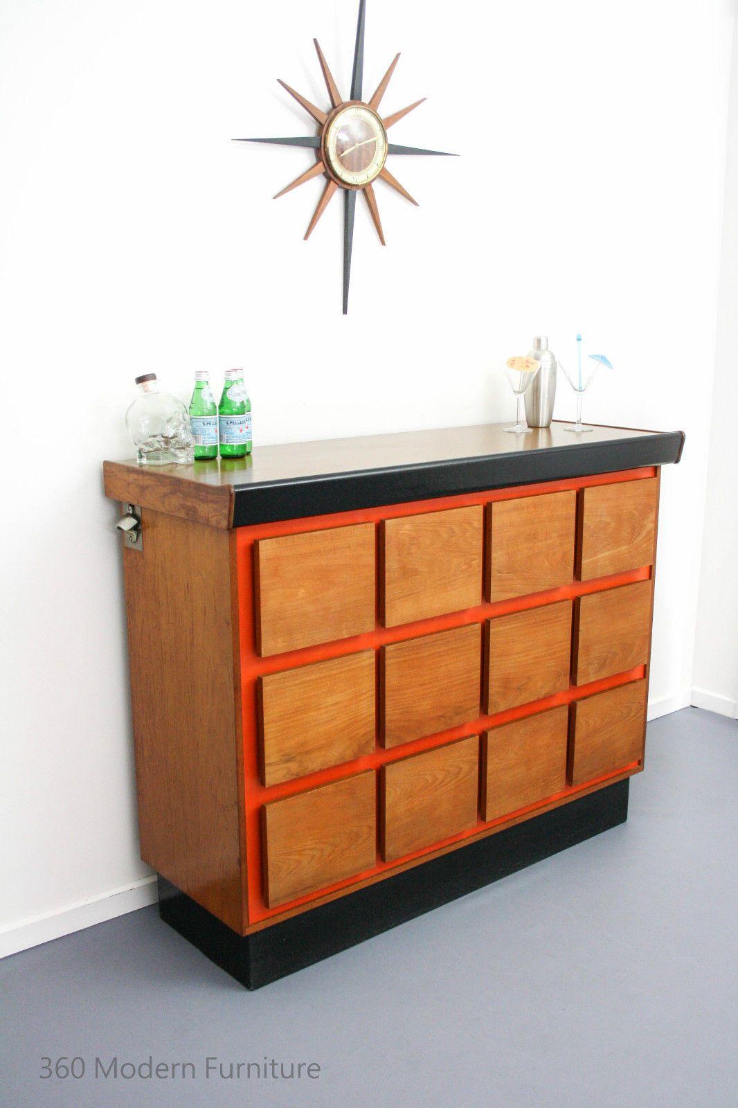 mid century sideboard cocktail bar cabinet macrob vintage retro scandi danish 360modeern furniture 695