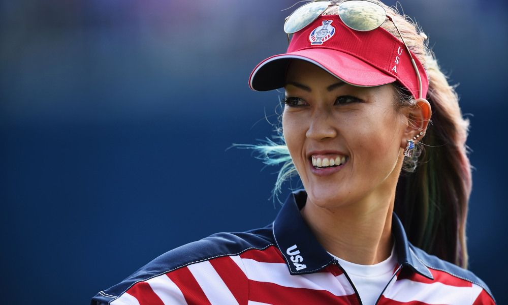 What's in the Bag Michelle Wie of Victorious U.S. Solheim