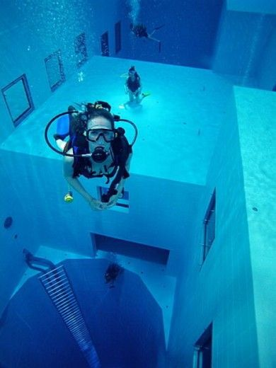 Nemo 33 in Brussels...been there!!!!
