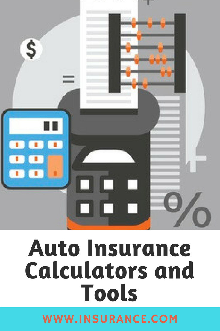 a smart insurance shopper by using the calculators