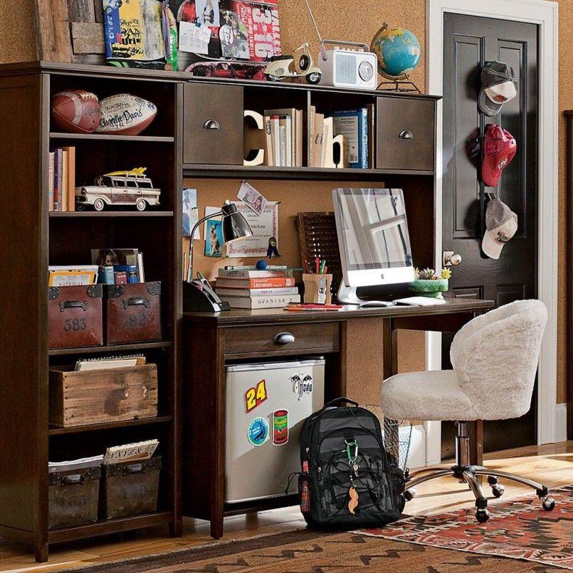 Furniture, Teens Bedroom Cool Desks For Teenagers With ...