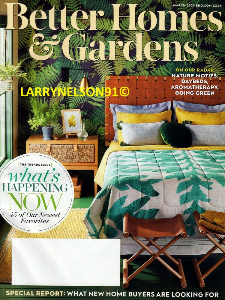 Better Homes And Gardens Magazine March 2020 Home Buyers Guide