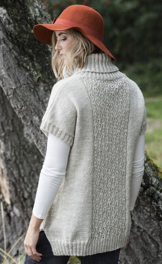 Naisen pitsitunika Novita Nalle | Novita knits