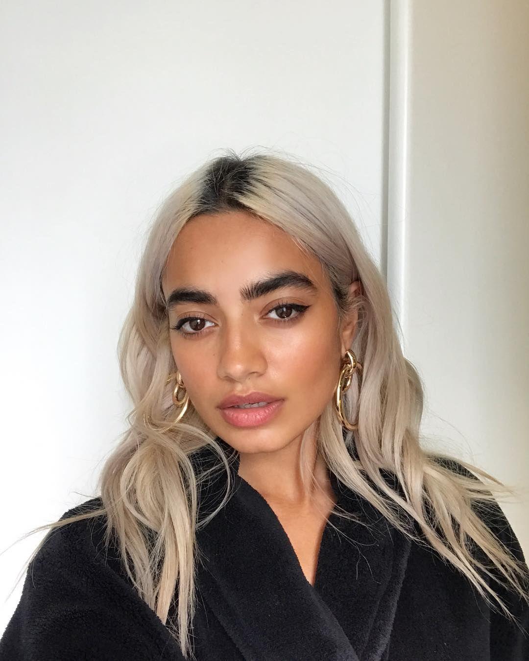 Tara On Instagram Love Ya Asos Studio Brown Skin Blonde Hair Dark Skin Blonde Hair Dyed Blonde Hair