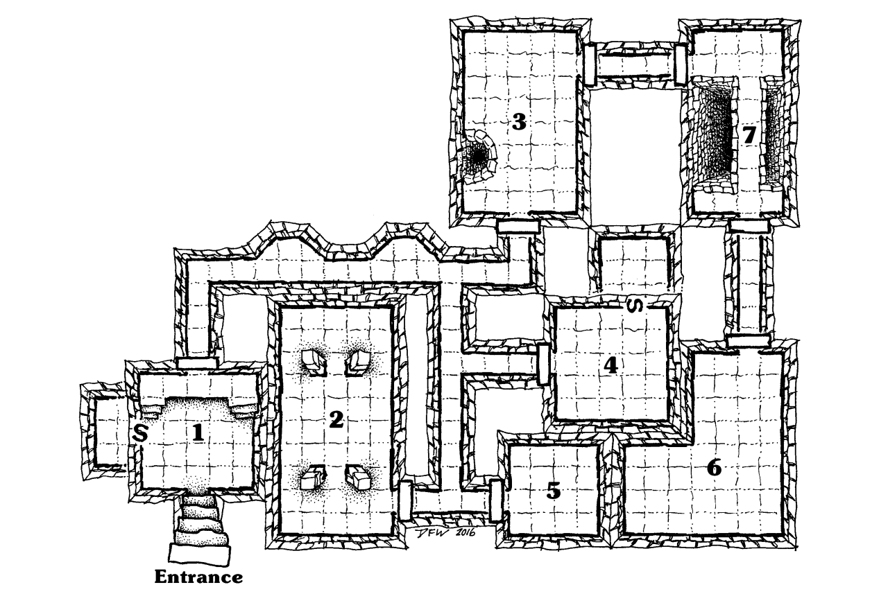 Map 4 The Weekly Releases Continue With This Dungeon Map