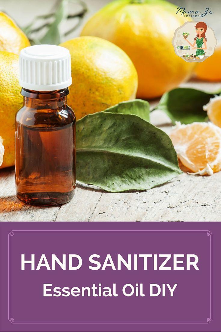 Diy Hand Sanitizer Recipe Homemade Body Care Hand Sanitizer