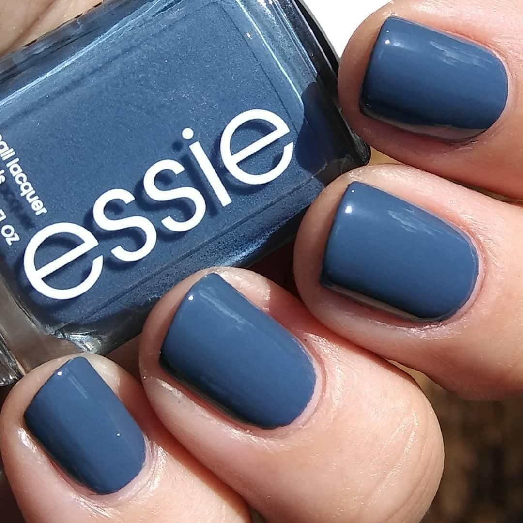 Blue Grey Nail Polish Essie: Pin By Tammyp On Cute Nails In 2019
