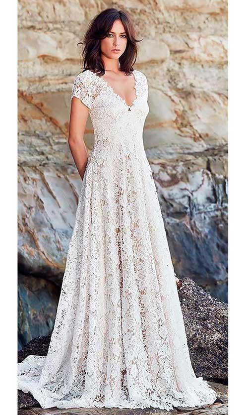 20 Nikah Elbisesi Ve Sade Gelinlikler Dantel Gelinlik Gelin Elbisesi The Dress