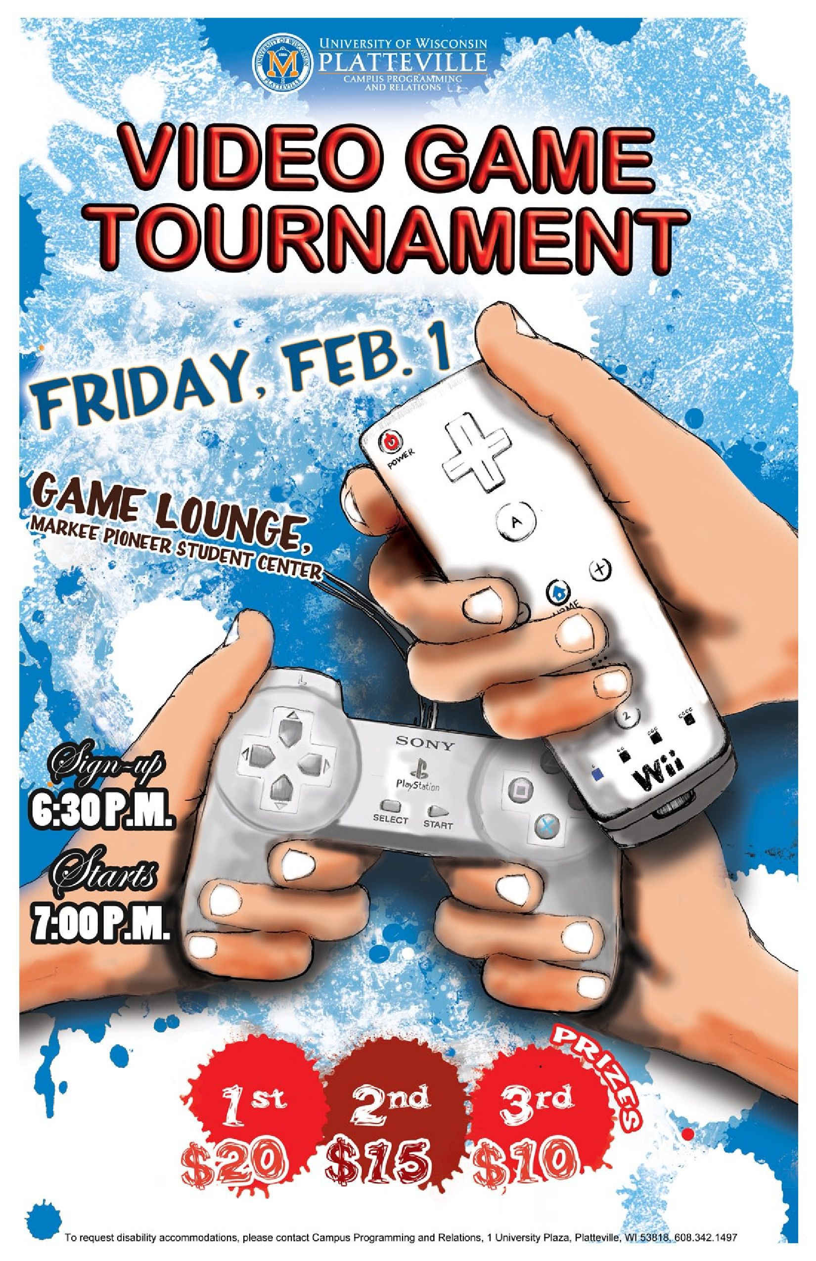 Video Game Tournament 2/1 Video game tournaments, Youth