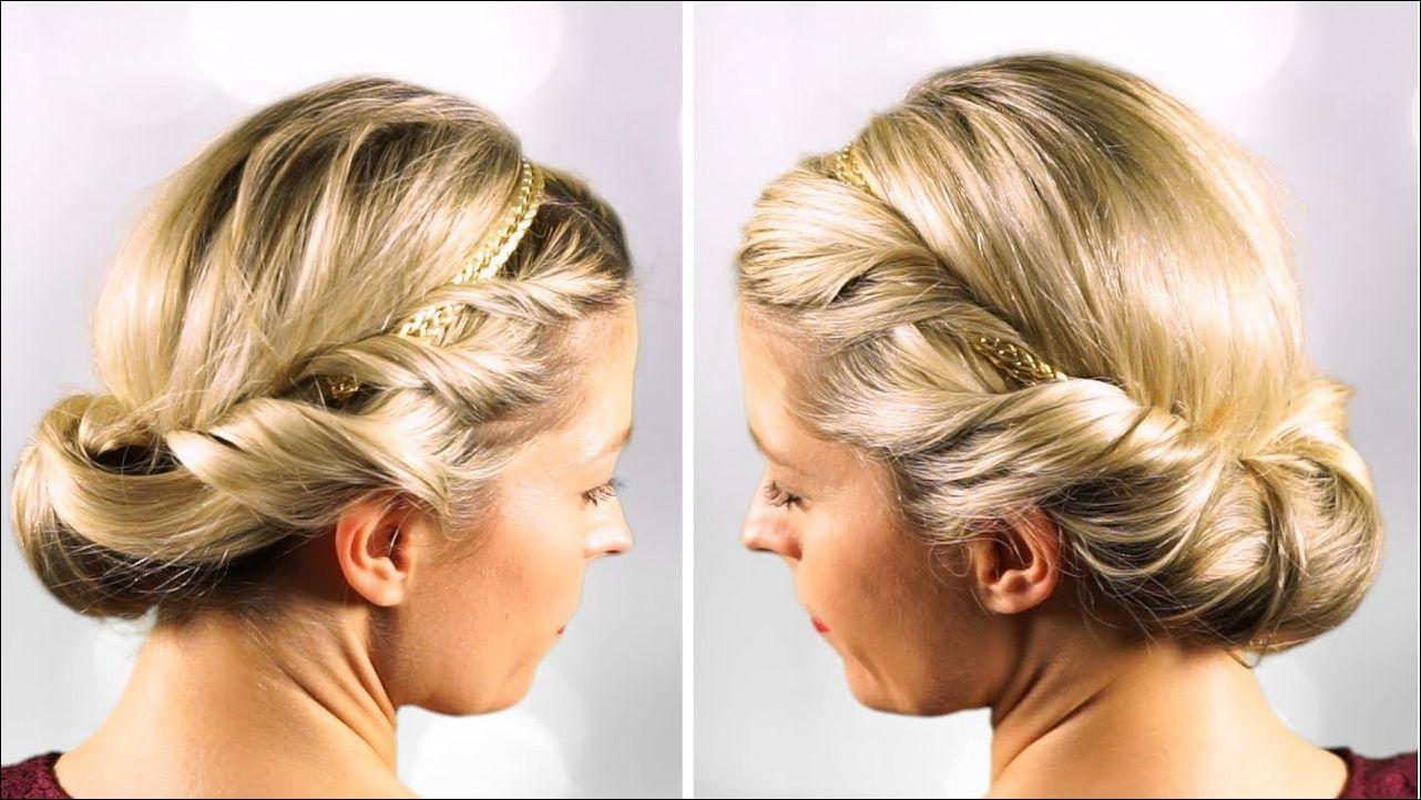 Schnelle Frisuren Mit Haarband Von Schnelle Frisuren Elegante Frisuren Frauen Frisuren Frisurentren Haarband Frisur Elegante Frisuren Schnelle Frisuren