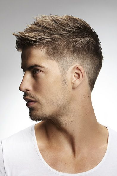 Guys Hairstyles guys with straight hair short sides with angular brush back Best Teenage Hairstyle For Guys 2016