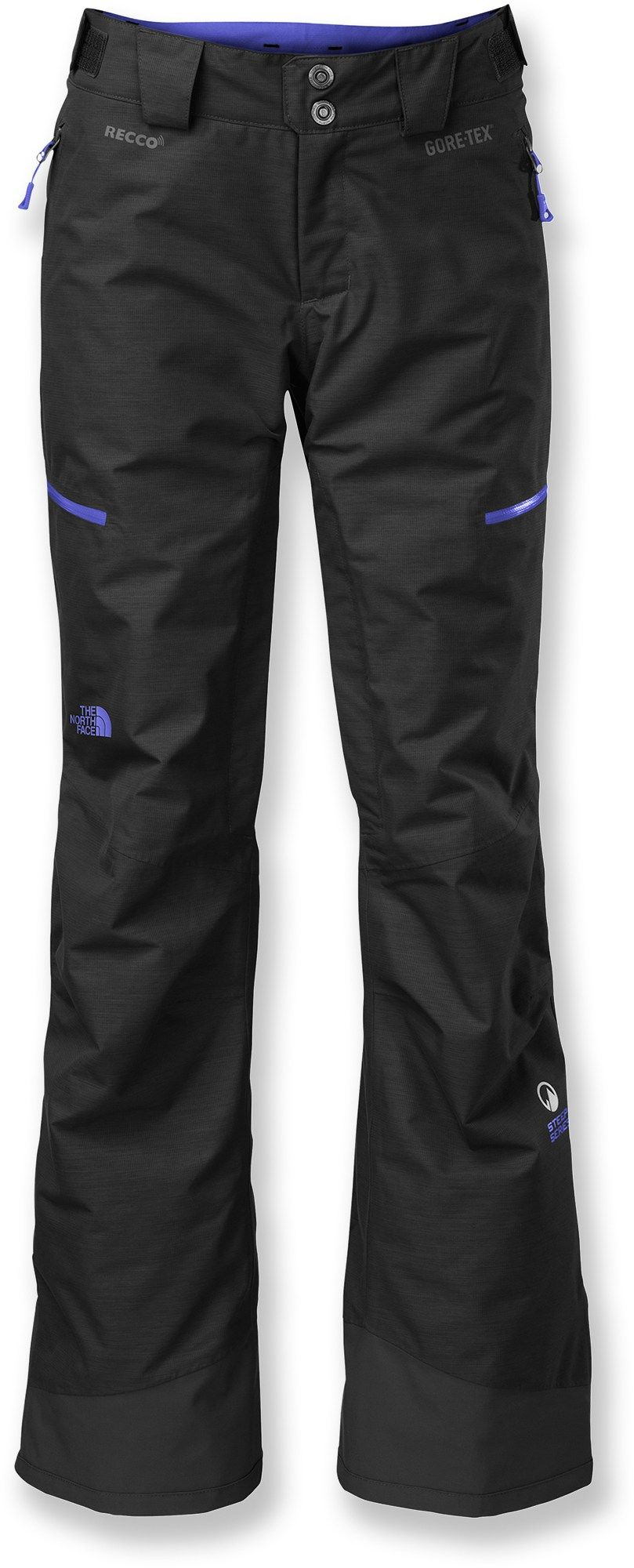 The North Face Female Nfz Insulated Snow Pants Women S Pants For Women Pants Ski Pants
