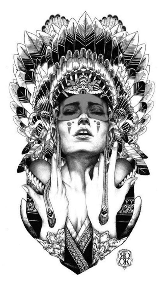 awesome tribal tattoo! | tatto | tatouage, dessin tatouage, tattoo