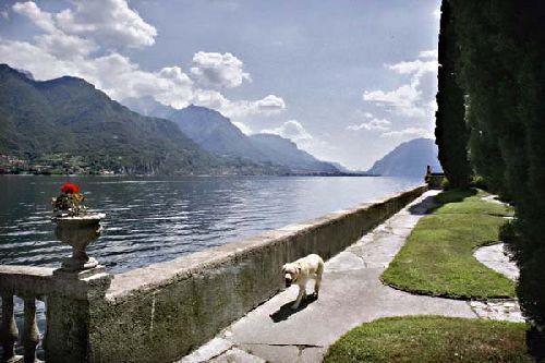 Right by the lake at Villa Lake Como, Bellagio