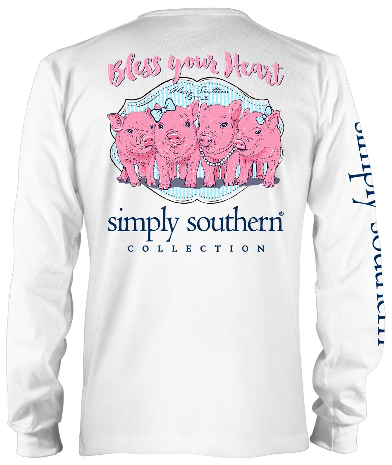 df7f3fceb BLESS YOUR HEART Adult Sizes $14.00 Simple Southern Shirts, Preppy  Southern, Southern Shirt Company