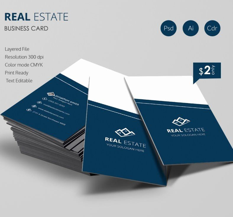 Real Estate Business Card Template Fresh Real Estate Business Card Template Beautiful Business Card Elegant Business Cards Free Business Card Templates