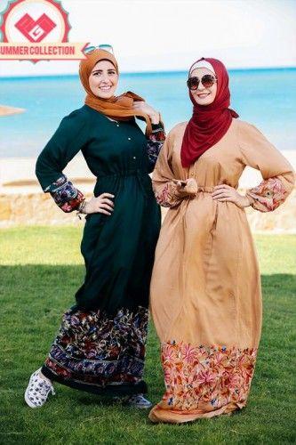 maxi hijab fashion dresses