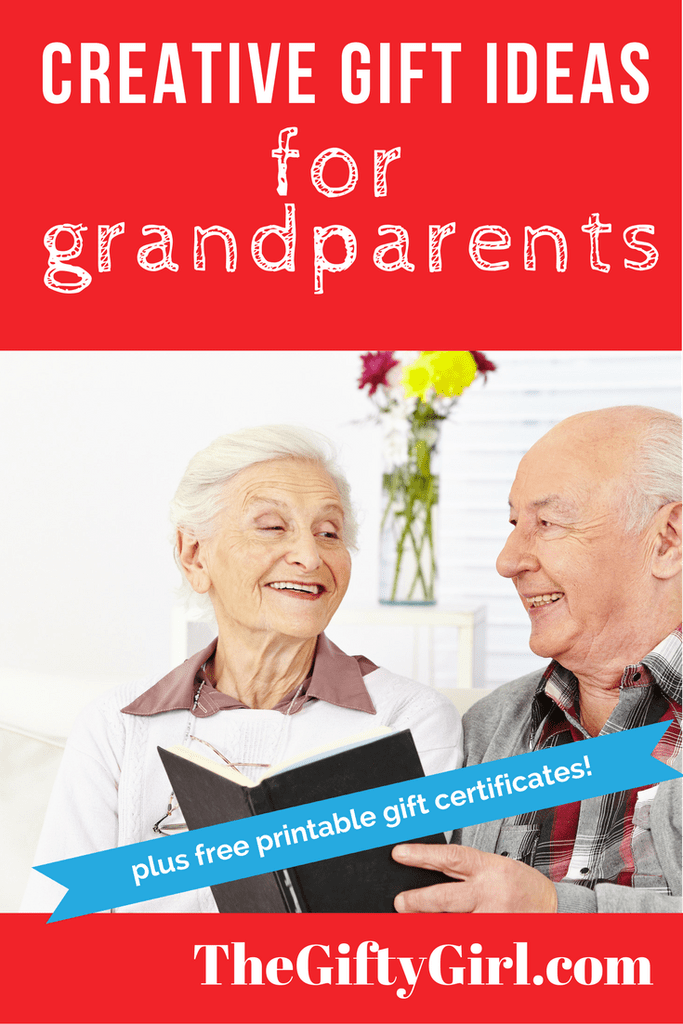 Creative Gift ideas for grandparents, older parents and seniors! - Creative Gift Ideas For Older Parents, Grandparents And Seniors