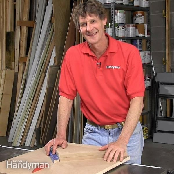 In less than an hour, you can be making perfect picture frames with help from this table saw miter sled!
