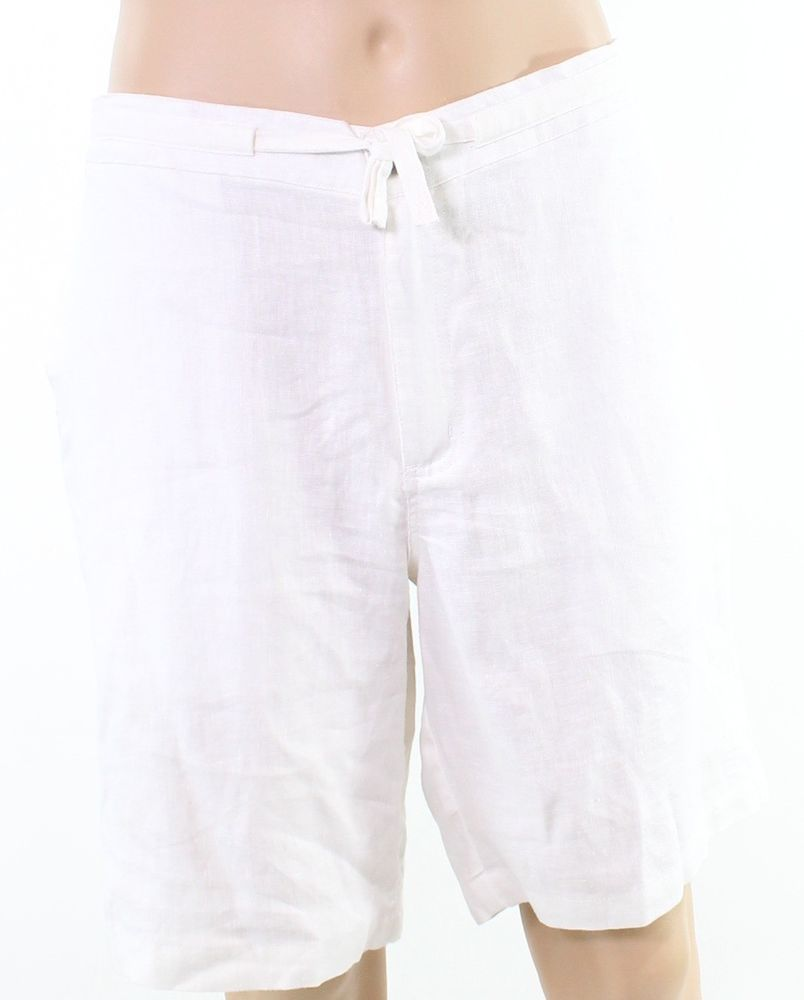 17e044550d68 Tasso Elba NEW White Mens Size 2XL Drawstring Elastic Waist Shorts  34 338   fashion  clothing  shoes  accessories  mensclothing  shorts (ebay link)