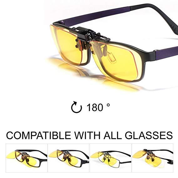 Brillen Clip On Glaser Gegen Blaues Licht Guter Schutz Bei Der Arbeit Am Bildschirm Gaming Brillen Pc Mobil Tv A Brille Bildschirm Mudigkeit