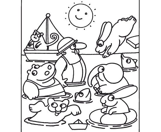 La stampa scarica i disegni da colorare 3 pimpa for Stampa disegni da colorare