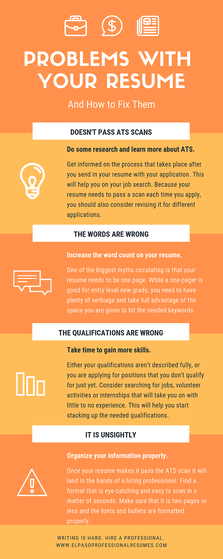 Resume Problems And How To Fix Them Resume Fix Guide