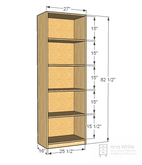 Build A Simple Closet Organizer Free And Easy Diy Project And