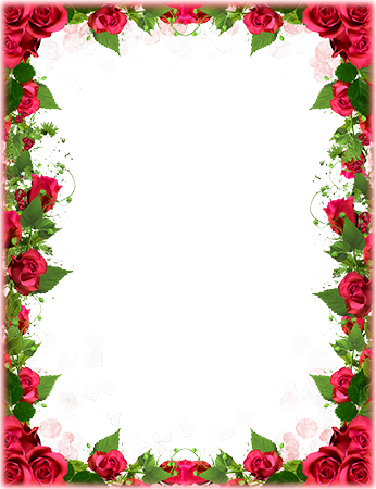 Red Roses Border In 2020 Flower Picture Frames Flower Frame Wedding Background Wallpaper