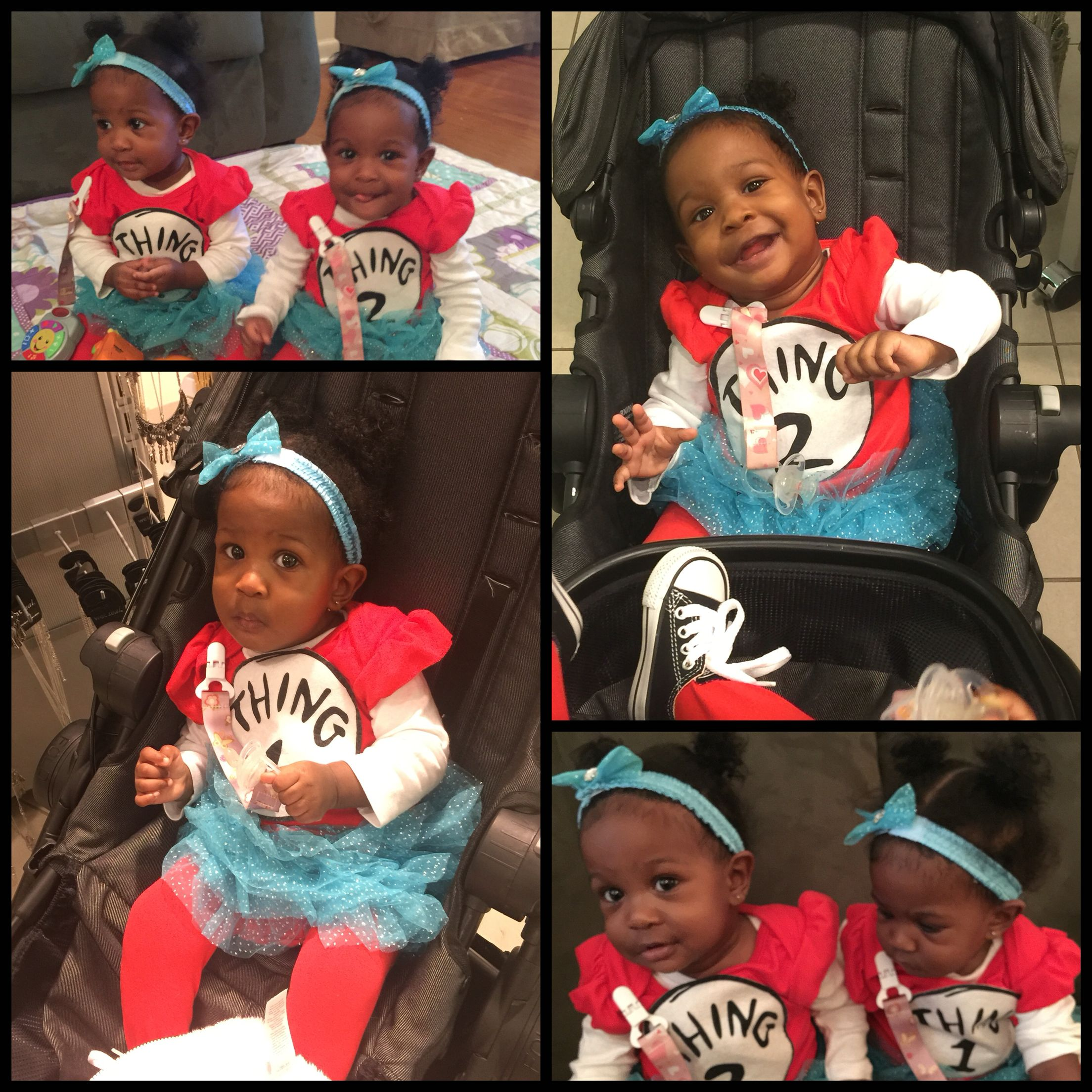 twins halloween thing one thing two black babies baby costumes twin - Baby Twin Halloween Costumes