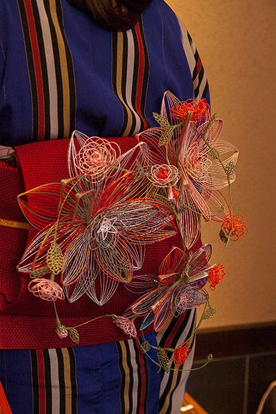 mizuhiki obi kazari by Eriko Morita wakoubou houyou