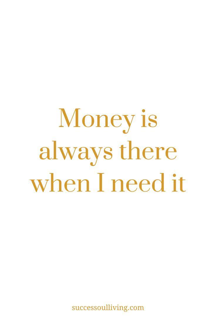 Money Affirmation for Wealth - Success-soul® Living