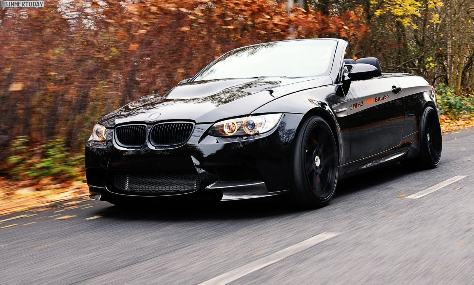Manhart Bmw M3 E92 Mh3 V8 R Biturbo Convertible Produces 655