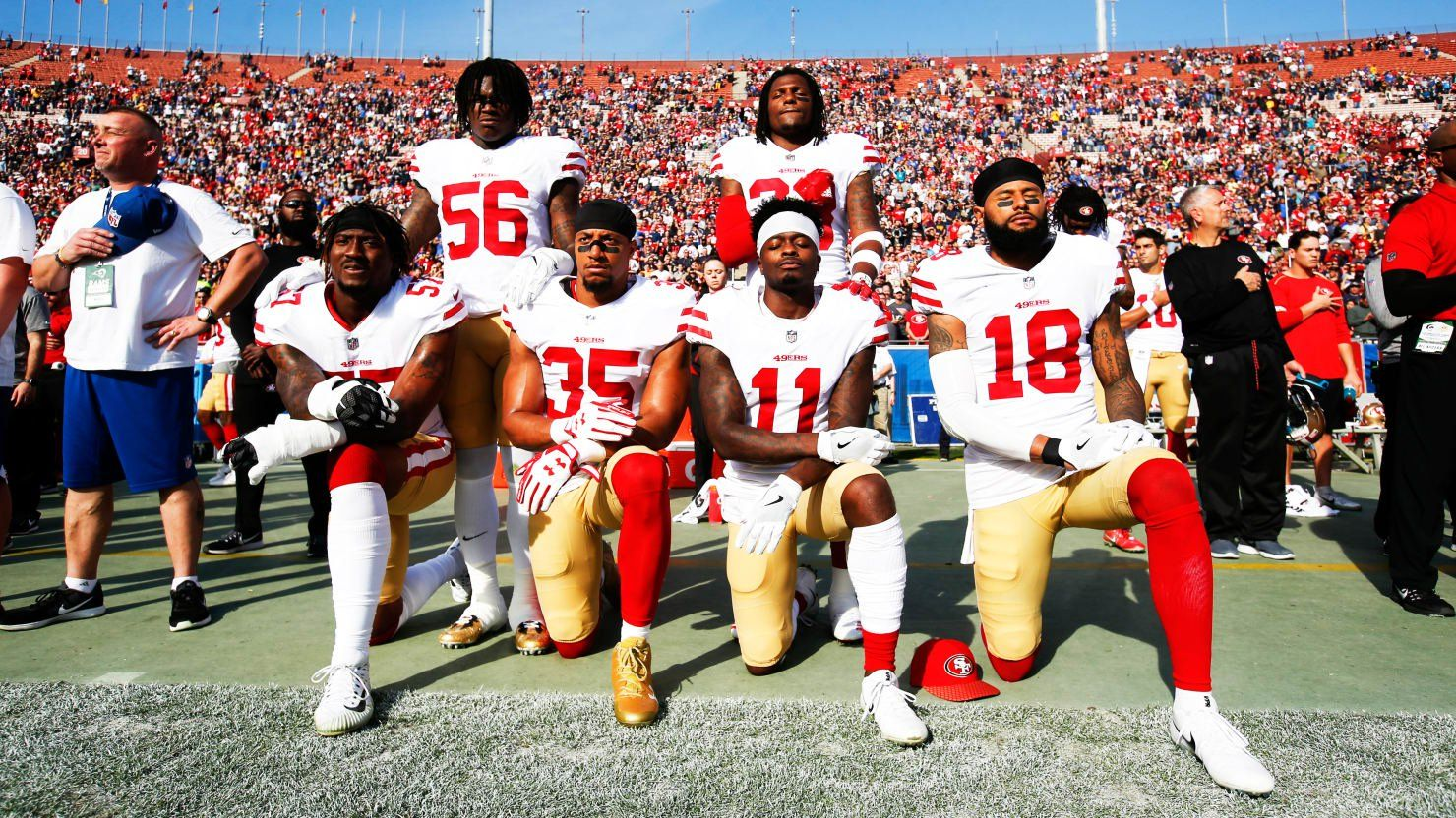 The Nfl Can Punish Kneeling Players Because It S A Private Corporation Let S Start Taxing It Like One Punishment Nfl Players