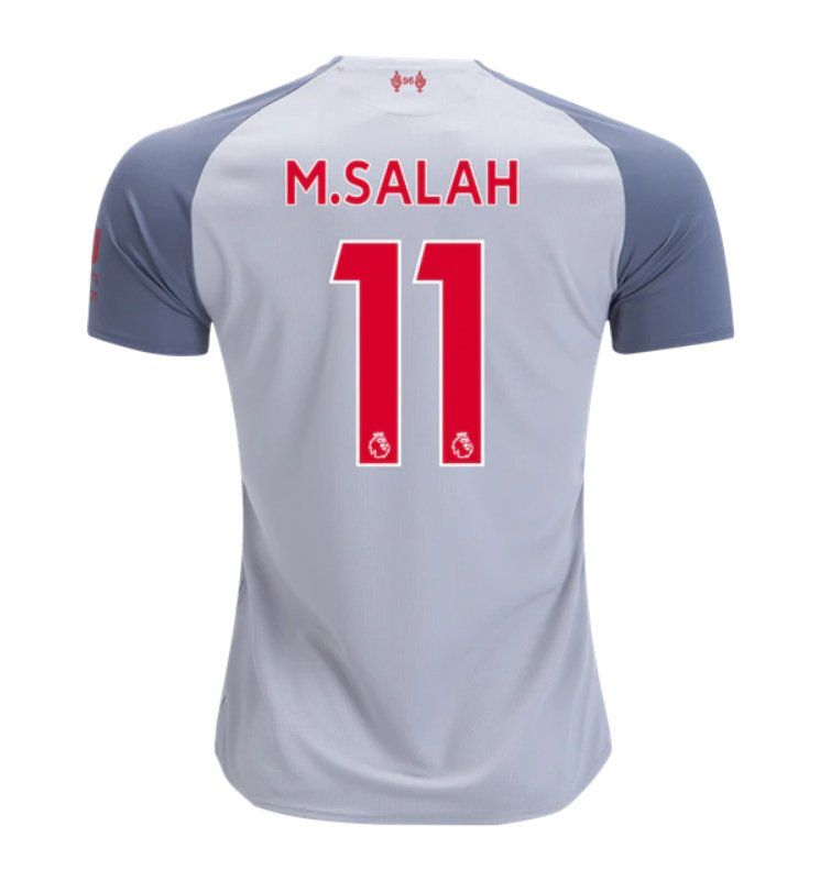 super popular dae40 f0206 Mohamed Salah #11 Liverpool 2018/2019 Third Jersey by New ...
