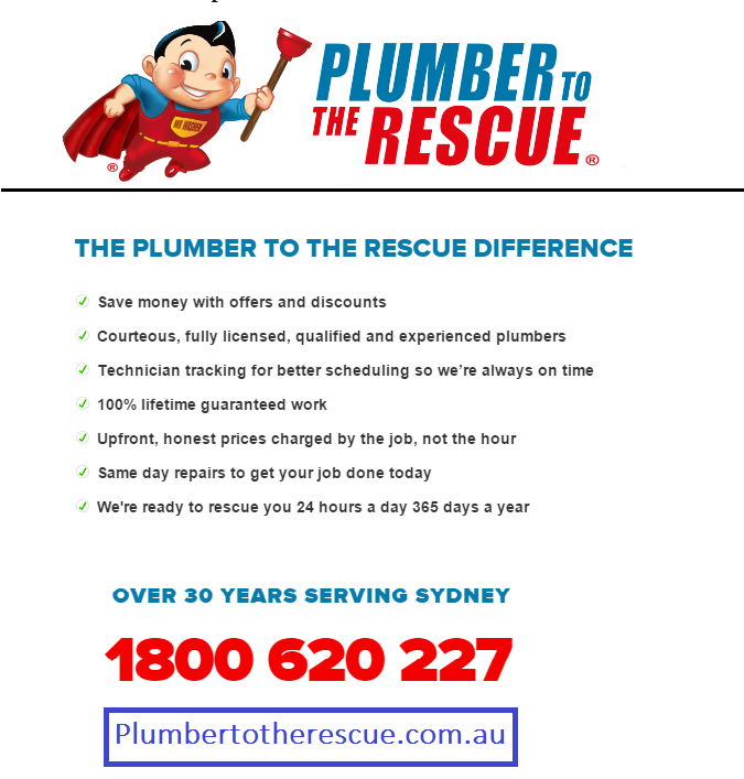 Plumber To The Rescue Solution For All Your Plumbing Needs