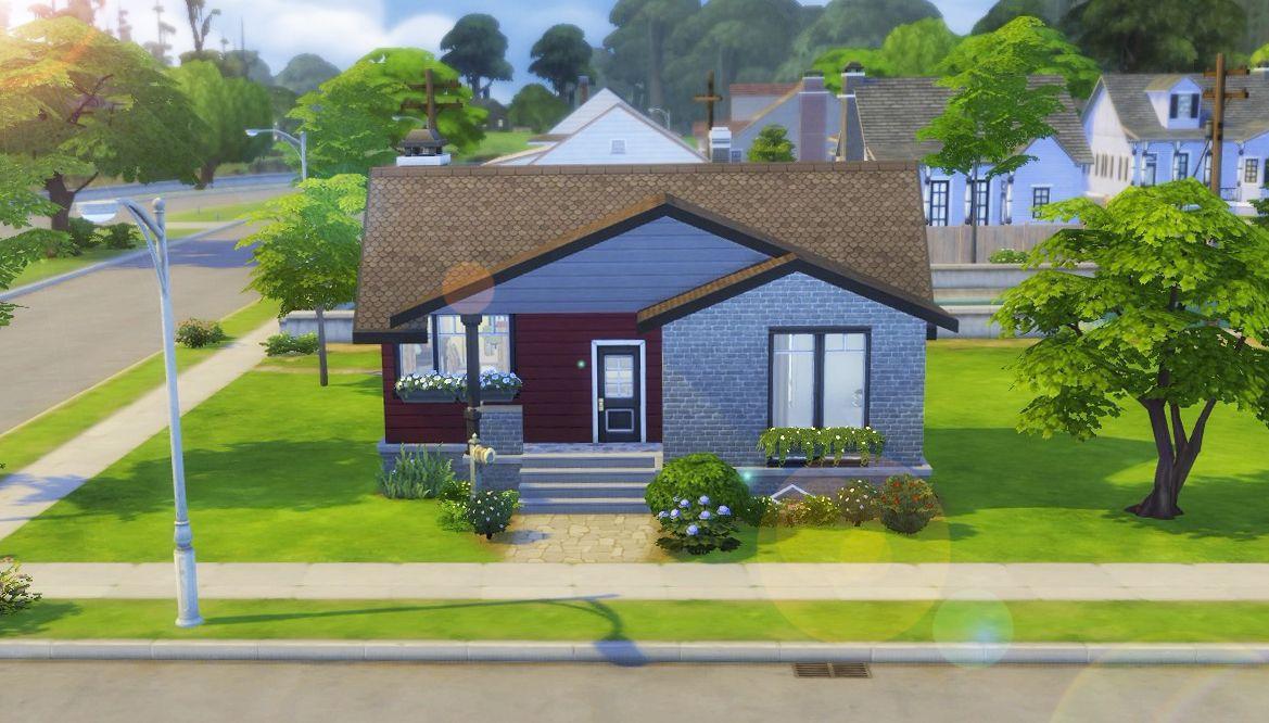 Construction Maison Sims 4 Sims4 Nocc Consctructionsims Maisonsims Maison Sims Construction Maison Maison