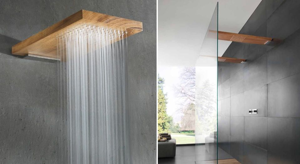 Modern Shower Fixtures That Fall Into A Class Of Their Own
