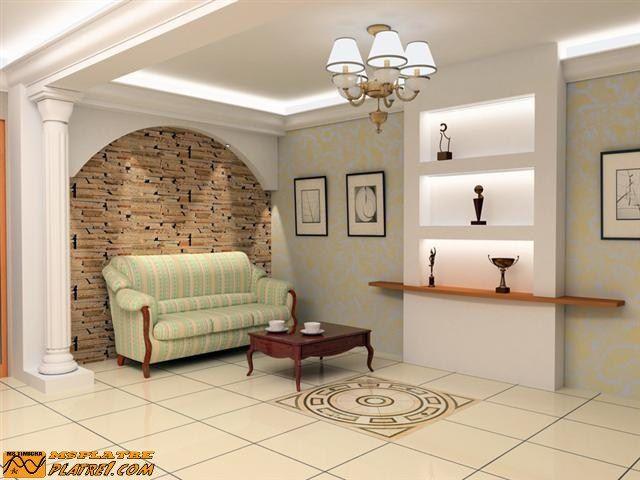 Décoration intérieur de couloir | séparateur | Pinterest