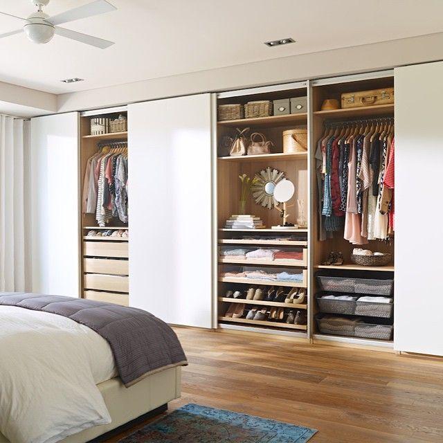 Ikea Master Bedroom: Meet Your Summer Wardrobe. #PAX #IKEA