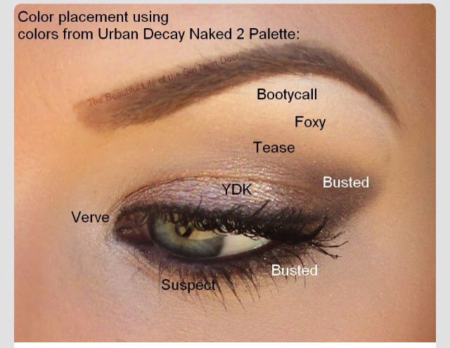 Urban decay-love the look, but the # of colors is ridiculous!