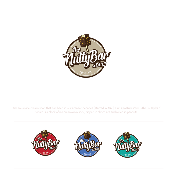 Historic ice cream shop seeking assistance in total rebranding!! Designers choose Food & Drink by sanjar