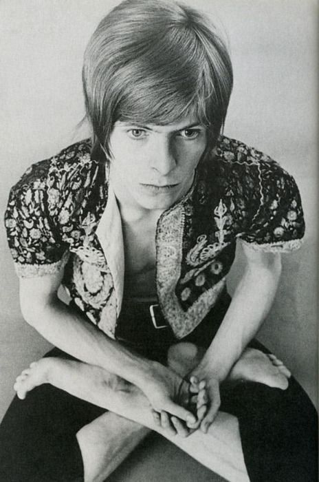 David Bowie in 1968. Pre Space Oddity. #davidbowie