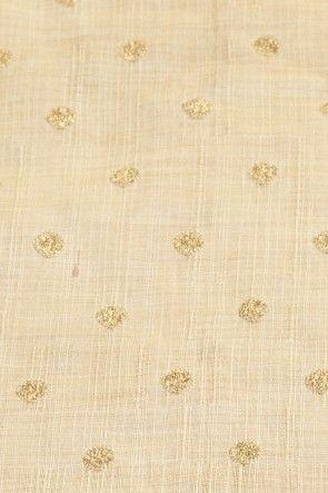 dupion art silk light sand brown fabric
