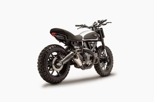 Ducati Scrambler Dirt Tracker Ducati Thailand #motorcycles #streettracker #motos | caferacerpasion.com