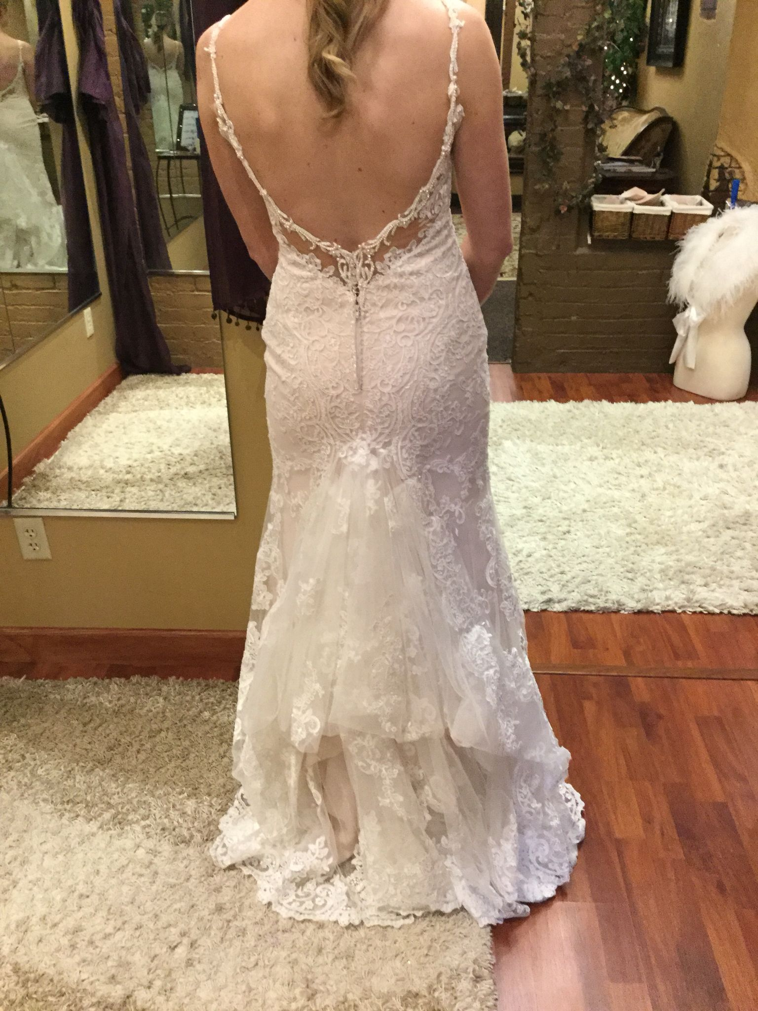Split layer French bustle (With images) Wedding gown