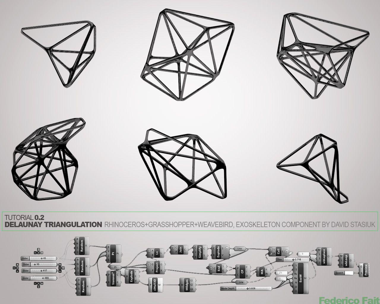 Grasshopper Tutorial: Delaunay Triangulation - Grasshopper